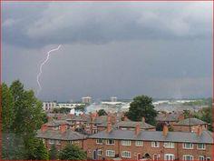 Lightening 6. Newton Heath. Manchester. UK. By Tony Cordingley