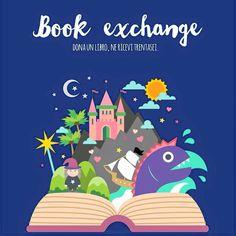 GIOCO DI SCAMBIO LIBRI PER BAMBINI! Cercasi mamme, nonne, zie e parenti varie per il #booksharing per bambini! È facile e divertente! Commentate qui per essere contattate per maggiori dettagli  #booksharingforkids #libri #bambini #scambio #gioco foto di MammaMatta