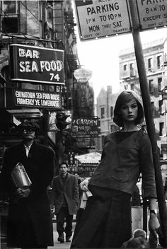 NYC. Jean Shrimpton, // by David Bailey