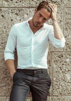 Stylish hot guy!