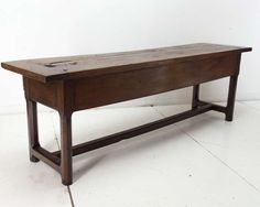 18th c. Italian Monastery Table | From a unique collection of antique and modern farm tables at https://www.1stdibs.com/furniture/tables/farm-tables/