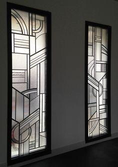 des id es en verre vitraux art d co dans une verri re d coration en 2018 pinterest. Black Bedroom Furniture Sets. Home Design Ideas