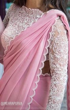 White blouse so good Elegant Indian Saris Click VISIT link for more info Best Indian Sari Click visit link above for more options Kurta Designs, Saree Blouse Neck Designs, Saree Blouse Patterns, Fancy Blouse Designs, Bridal Blouse Designs, Designer Blouse Patterns, Saree Jacket Designs Latest, Shagun Blouse Designs, Sari Design