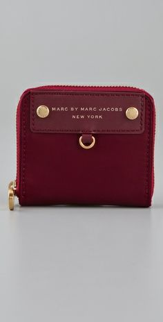 marc jacobs mini zip around wallet - Google Search