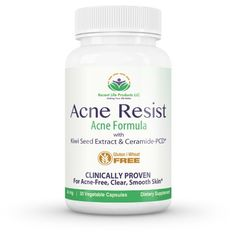 #amazon Acne Treatment Pills- Acne Pills - Acne Supplements - Gluten Free Acne Treatment - Unique Combination of Kiwi Seed Extract & Ceramide-PC - $35.97 (save 55%) #recent #life #products