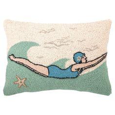Diver Pillow #ocean