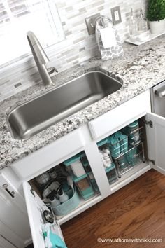 Exceptional Kitchen Remodeling Choosing a New Kitchen Sink Ideas. Marvelous Kitchen Remodeling Choosing a New Kitchen Sink Ideas. Bathroom Sink Organization, Sink Organizer, Diy Bathroom Decor, Home Organization, Bathroom Pink, Bathroom Ideas, Organizing Ideas, Bathroom Hacks, Budget Bathroom