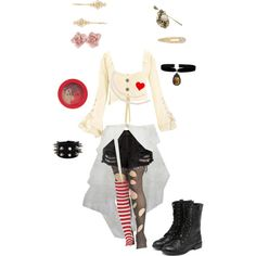 """""""Emilie Autumn Inspired #5"""" by conquistadorofsorts on Polyvore"""