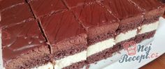 Recept Black and white kostky Thing 1, Tiramisu, Black And White, Cake, Ethnic Recipes, Food, Black White, Food Cakes, Eten