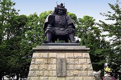 The statue of Takeda Shingen in Kofu