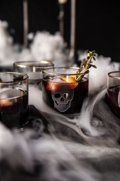 Death Eater Negroni // fall cocktail ideas