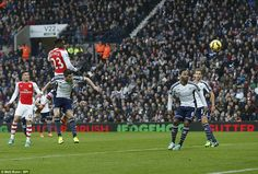 England International Welbeck scored the decisive goal at West Brom with a fine header after out jumping Sebastien Pocognoli