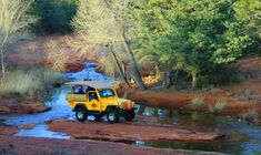 Explore a popular winery, then take a Jeep through the Sedona countryside; romantic sunset option ideal for date nights or Valentine's Day
