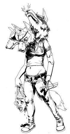 Sexy Werewolf Amputee by ~JackJersey on deviantART