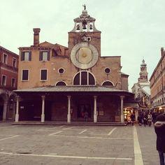 Chiesa San Giacomo di Rialto en Venezia, Veneto