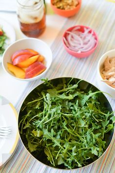 Arugula is my favorite type of salad base. It packs so much flavor and ...