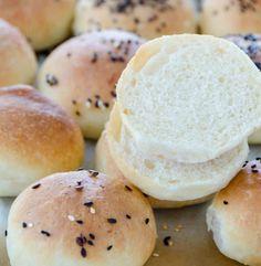 Bułki maślane Hamburger, Bread, Brot, Baking, Burgers, Breads, Buns
