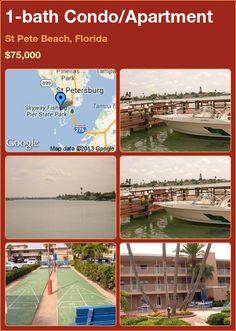 1-bath Condo/Apartment in St Pete Beach, Florida ►$75,000 #PropertyForSale #RealEstate #Florida http://florida-magic.com/properties/4077-condo-apartment-for-sale-in-st-pete-beach-florida-1-bathroom