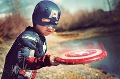 MeganKelly, Superheroes, Kid, Child, Boys, Captain America, Hero, Iron Man, Costume, Photoshoot, Action, Adventure