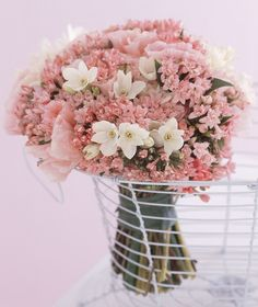 Wedding Wishes, Wedding Bouquets, Glass Vase, Dream Wedding, Valentines, Flowers, Plants, Pink, Inspiration