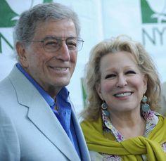 Bette Midler and Tony Bennett  - Bette Midler's New York Restoration Project 8th Annual Spring Picnic