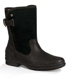 18294414485966 Shop for UGG® Women s Oren Leather and Suede Waterproof Cold Weather Boots  at Dillards.
