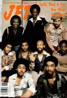 Throwback - The Elements -Earth, Wind and Fire! Jet Magazine, Black Magazine, Ebony Magazine Cover, Magazine Covers, Earth Wind & Fire, 70s Music, Urban Music, Black Celebrities, Beautiful Celebrities