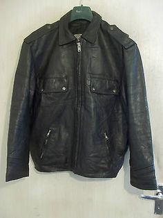 1970's italian police #stratocaster #leather #motorcycle jacket size m,  View more on the LINK: http://www.zeppy.io/product/gb/2/252563878169/