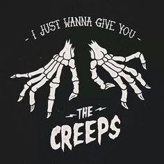 I just wanna give you THE CREEPS - skeleton hands skeletons creepy spooky bones illustration graphic print sociald social distortion Creepy, Scary, Social Distortion, Halloween Art, Skull Art, Dark Art, Dark Side, Art Inspo, Retro Vintage