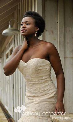Natural hair brides, Natural hair and Natural hair wedding on ...