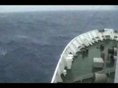 Storm in the Drake Passage...i want to go so bad but i dont know if i could handle this without medication/.