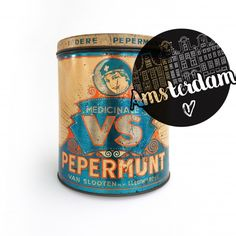 Retro, Coffee Cans, Amsterdam, Canning, Drinks, Medicine, Tin Lunch Boxes, Antiquities, Drinking
