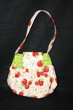 # Cute little girl summer strawberry purse