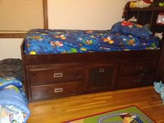 Cashen's bed and drawers Small Chest Of Drawers, Bed, Furniture, Home Decor, Small Dresser, Decoration Home, Stream Bed, Room Decor, Home Furnishings
