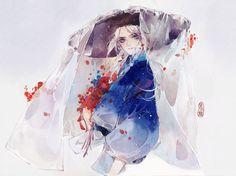 Manga Illustration, Watercolor Illustration, Watercolor Paintings, Anime Art Girl, Manga Art, Yandere, Film Cars, Character Art, Character Design