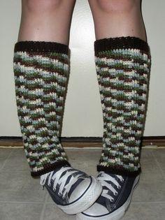 Long crochet Leg Warmers for women or juniors in by luvbuzz,