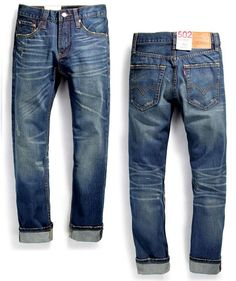 2014 Hot Sale LEVIS 502 Men Jeans Straight Fit Mens Jean Size 30 31 32 33 34 #Handmade #ClassicStraightLeg