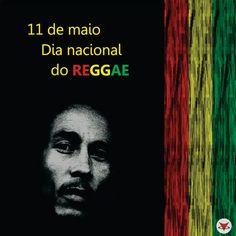 O dia 11 de maio é considerado o dia nacional do Reggae, pela morte do cantor e maior ícone da musica de Reggae no mundo, Bob Marley.   Feliz dia do reggae ♪  #Bob #Reggae #Music