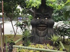 Taman Legenda Keong Emas di TMII, Jakarta, Indonesia