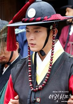 Korean Drama Songs, Arang And The Magistrate, Drama Series, Captain Hat, Asian, Hats, Hat, Hipster Hat