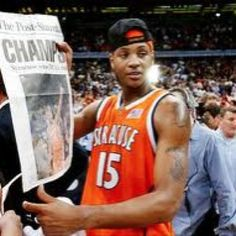 2003 was the last and only time we won a National Championship in Men's Basketball...could we do it again in 2013? Go Orange!