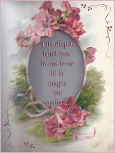 African Dessert, Goeie More, Afrikaans Quotes, Inspirational Quotes, Motivational, Frame, Home Decor, Wisdom, Life Coach Quotes