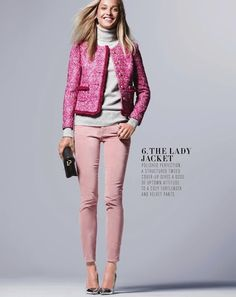 The Lady Jacket - Nov 2012 Style Guide