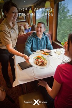 Find out the best shore excursions for eating in Alaska while visiting five different popular cruise ports. Cruise Destinations, Celebrity Cruises, Fresh Seafood, Alaska Cruise, Best Places To Eat, The Good Place, Celebrities, Easy, Celebs