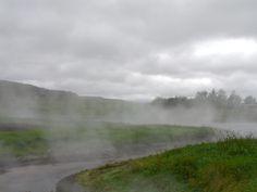 Hermosos rios de agua caliente