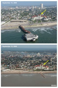 "before and after hurricane Ike :-( Balinese. ZZ Top's song ""Down At The Balinese"" is about this cool old place."