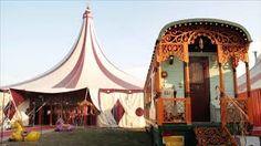 Risultati immagini per foto tende da circo nell'800