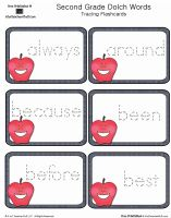 FREE printables Second Grade Dolch Sight Words Tracing Apples Cards Letter Tracing Worksheets, Tracing Letters, Title 1 Reading, Dolch Sight Words, Sight Word Practice, English Language Arts, Reading Skills, Best Teacher, Learn To Read