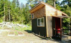 Off grid micro cabin.