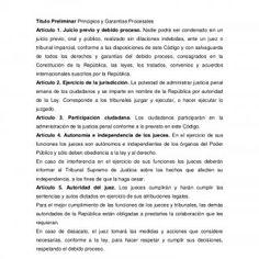 CÓDIGO ORGÁNICO PROCESAL PENAL VENEZOLANO Título Preliminar Principios y Garantías Procesales Artículo  Juicio previo y debido proceso. Nadie podrá ser co. http://slidehot.com/resources/codigo-organico-procesal-penal-2.9147/